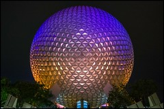 EPCOT 30th (EXPLORED) (Coasterluver) Tags: night epcot disney spaceshipearth sse andrewkirby coasterluver epcot30