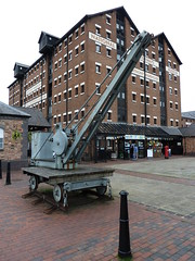 Gloucester Waterways Museum Gloucester Docks (woodytyke) Tags: county old city uk trip bridge cruise friends england building brick english history tourism museum architecture docks river photography boat town canal photo britain crane lock united transport police craft kingdom exhibit basin gloucestershire historic severn warehouse national gloucester trust mooring boating historical british launch visitor trade isles navigation waterway 2012 waterways diplay sharpness llanthony sharpnesss woodytyke