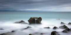 The Bowl {Explored} (Anthony Owen-Jones) Tags: ocean uk longexposure sea sky cloud white seascape color art beach water colors wales clouds canon lens landscape eos rebel coast landscapes photo seaside kiss rocks europe moody artistic unitedkingdom fineart north picture naturallight filter photograph le lee ethereal postprocess tranquil hoya pwllheli t3i x5 northwales canonefs1022mmf3545usm 600d takenwith 10stop nd16 rebelt3i kissx5 anthonyowenjonescom