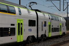 S31 Mnchenbuchsee => Belp mit BLS Ltschbergbahn Doppelstockzug  DOSTO RABe 515 002 Mutz der Firma Stadler Rail am Bahnhof Mnchensee im Kanton Bern in der Schweiz (chrchr_75) Tags: oktober train de tren schweiz switzerland suisse swiss eisenbahn rail railway zug 1210 locomotive christoph svizzera bls bahn treno chemin centralstation fer 2012 locomotora tog 515 rabe juna mutz lokomotive lok ferrovia spoorweg suissa locomotiva lokomotiv ferroviaria  locomotief chrigu  stadler doppelstockzug rautatie  dosto doppelstcker zoug trainen kantonbern ltschbergbahn  chrchr hurni chrchr75 chriguhurni albumbahnenderschweiz2012712 chriguhurnibluemailch doppestockzug hurni121003