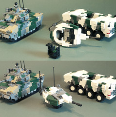 Patria XA-380 turret variant (Aleksander Stein) Tags: pictures infantry lego military vehicle fighting patria instructional ndc amv ifv baynet xa380 cv100a2