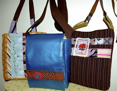 purses and small messenger bag