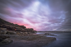 Red Alert (Timothy M Roberts) Tags: landscape seascape maroubra sydney australia lifesaver longexposure nikon