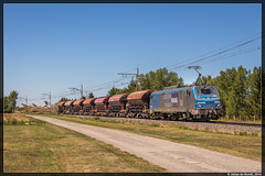 17-07-16 RegioRail Prima BB 27137M + Nacco zelflossers, Saverdun (Julian de Bondt) Tags: prima fret nacco saverdun regiorail alsto