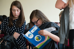 SpellingBeeFinal2016_km158 (routesintolanguages) Tags: uk wales kids modern competition aberystwyth using learning spelling welsh language foreign schoolkids talking schoolgirl schoolgirls pupil speaking vocabulary pupils spellingbee 2016 year7 europeaan wjec schoolkind langiages medrus