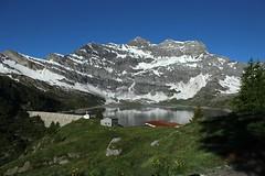 Salenfe (bulbocode909) Tags: valais suisse salenfe montagnes nature barrages lacs chapelles auberges arbres paysages neige vert bleu