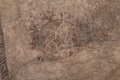 Somewhat faded on the wall (petyr.rahl) Tags: spain aljafera zaragoza aragn es