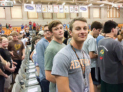New Student Move-In Day 2016 (Hendrix College) Tags: 2016 calixto campus convocation day hendrix hendrixcollege indoors jazmin movein new newstudent student yespeople