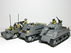 4th Armoured Division (Sgt._Johnson) Tags: lego wwii canadian vehicle