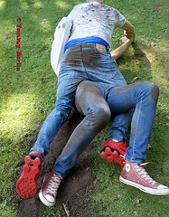jeansbutt10621 (Tommy Berlin) Tags: men jeans butt ass ars levis fight