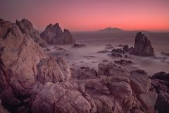 Abstract Place (Robelier Photoexplorer) Tags: sea ocean rocks coast roquerios lagunillas coquimbo atardecer chile longexposure gnd8 silky