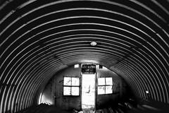35/52 (2016): Doors & Windows. (Sean Hartwell Photography) Tags: bradwell bradwellonsea worldwar2 corrugated roof window door samyang8mm fisheye week352016 52weeksthe2016edition weekstartingfridayaugust262016