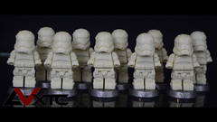 First Order Stormtrooper Casts (AndrewVxtc) Tags: lego star wars custom resin casted first order stormtrooper episode 7 force awakens andrewvxtc