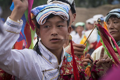 2016_Tibet_Flickr_2star-119 (arkienkeli) Tags: tibet repkong shaman festival tongren amdo