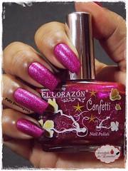 N513a - El Corazón - Confetti (Paty Domingues) Tags: elcorazon esmaltadasdapatydomingues liquidsand