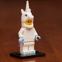 Lego Minifigures Series 13- Unicorn Girl (Andrew D2010) Tags: minifig minifigure series9 suit lego woman lady unicorngirl series13 girl