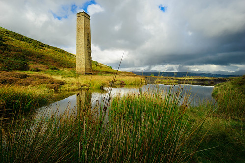 Cwmbyrgwm Colliery Chimney
