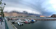A storm is brewing (tuoter) Tags: storm sky clouds jtksaari lauttasaari helsinki