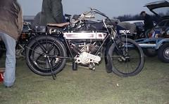 Unknown Reg: 1910 DG (bertie's world) Tags: sunbeam pioneer run 1979 epsomdowns motorcycles reg 1910dg
