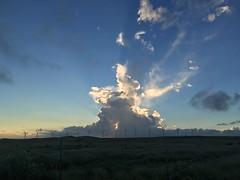 Wind turbines at sunset (RobotSkirts) Tags: hawaii windturbine turbine cloud wind southernmostpoint south