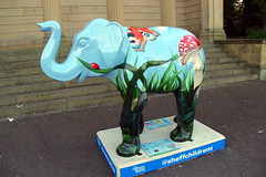 22.9.16 Elephants in Sheffield 123 (donald judge) Tags: sheffield herd of elephants chldrens hospital charity