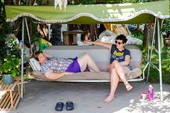 Valeen + Sandra (Bhlubarber) Tags: alberta carvel family holiday parkland prairies summer chill