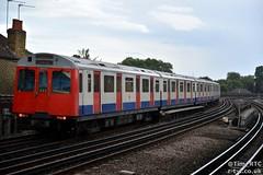 D78 7004 departing Stamford Brook (Tim R-T-C) Tags: 7004 districtline lul london londonunderground stamfordbrook railroad railway station train