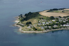 St Mawes Castle - Cornwall aerial image (John D Fielding) Tags: stmawescastle castle carrickroads falestuary aerial aerialphotography aerialimage aerialphotograph aerialimagesuk aerialview
