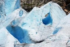 Broken pipework (DoctorMP) Tags: norway norwegia norge nigardsbreen glacier bre lodowiec góry mountains breheimen ice lód sognogfjordane