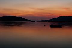 DSC_3941 (Isko78) Tags: sea seaside travel landscape nature colors clouds nikon d80 1870 boat silhouette evening