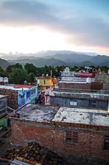 Coucher de soleil sur Trinidad (Nature photo - Caroline) Tags: trinidad montagne sunset toits cuba