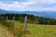 Last days of Summer... (Dianne Sherrill Photography) Tags: blueridgeparkway blueridgemountains view mountains fence