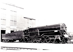 Del. and Hudson  no.1403  Colonie, NY June 1935 (Vernon Parish Library) Tags: locomotivesdelawarehudsonno1403colonie ny
