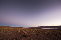 Sunset at 4855m altitude (tigrić) Tags: travel sunset lake southamerica landscape altitude bolivia andes altiplano southwesttour lagunamorejon