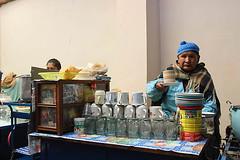 IMG_0009w (rovinglight) Tags: lake titicaca coffee breakfast religious bolivia copacabana sopapilla sopaipilla lapazdept friedcopacabanalapazdeptbolivia