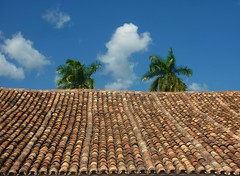Where have you been.. (areyarey) Tags: roof summer sky clouds palms cuba tiles trinidad mojito fields areyarey