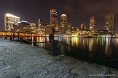 Boston (Dan Sherman) Tags: city boston skyline lights downtown waterfront unitedstates massachusetts downtownboston