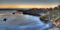 An Evening in Albion (manuelm) Tags: ocean california houses sunset sea costa beach fog canon landscape eos coast atlantic gree niebla albion 5dm2 5dmii