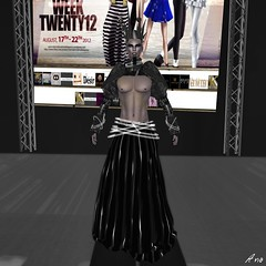 IMA - Sydney Fashion Week Ezura  002 (Photography by Ana) Tags: events models sl secondlife styles ima styling fashionweek sydneyaustralia fashionshows runwayshows ezura modelingshows