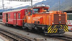 RhB Gm3/3 231 (maurizio messa) Tags: railroad switzerland railway trains svizzera bahn mau ferrovia treni rhb shunter graubnden rhtischebahn manovra grigioni schmalspurbahn rangierlokomotive nikond90