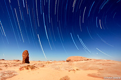 stars trails (Abdullah Al-Okime lI  ) Tags: canon stars landscape star mark trails ii land 5d 1740mm