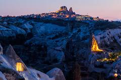 Goreme Castle (Nomadic Vision Photography) Tags: summer turkey unescoworldheritage cappadocia goreme fairychimney travelphotography ancientarchitecture jonreid centralanatolia tinareid geologicalattraction httpnomadicvisioncom historicalregion turkishattraction