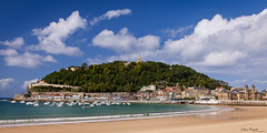 Playa de la Concha ([Chris Tennant]) Tags: city vacation beach coast spain europe resort espana sansebastian donostia laconcha 5dmkii christennantphotography