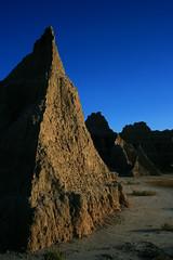 Towers (RPahre) Tags: southdakota landscape bluesky erosion badlands geology badlandsnationalpark landscapes101 sceniclooproad
