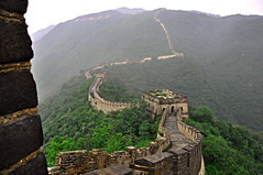 The Great Wall at Mutyanyu  Explore # 26  08/09/2012 (marinfinito) Tags: china landscape greatwall