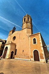 Sitges | Espaa (Pola Damonte) Tags: santa trip travel blue sea sky espaa costa verde church water azul clouds canon landscape landscapes mar photo high spain agua san europa europe heaven exterior outdoor faith pablo iglesia sigma paisaje arena viajes cielo catalunya fe 1020mm range brava sitges hdr highdynamicrange pola mediterrneo credo celeste transparente esmeralda sagrado religin tecla dinamic cristalina cataln f456 damonte sigma1020mmf456exdc crurch altorangodinmico iglesiadesanbartolomysantatecla flickrstruereflection1 flickrstruereflection2 iglesiadesanbartomisantatecla bartom