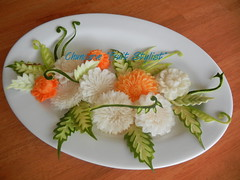 The Elaborate Art of Thai Fruit and Vegetable Carving