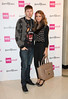 Professor Green and Millie Mackintosh - London Fashion Week Spring/Summer 2013