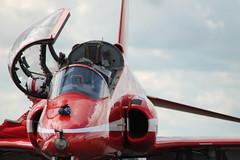 open hatch (8uckett) Tags: hawk aeroplane airshow redarrows raf aerobatics