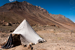 Camping in the mountains (Viswas Nair TK) Tags: road camp india mountains landscape nikon tent nikkor ladakh d90 18105mm